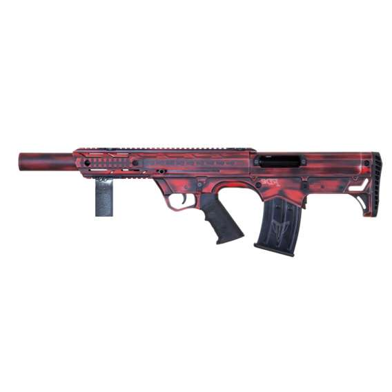 Pro Series Bullpup (Semiautomatic, Left Eject) in Distressed Red