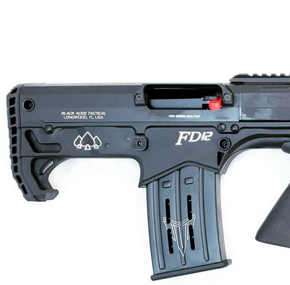 Pro Series Bullpup (Pump, Rear) in Black