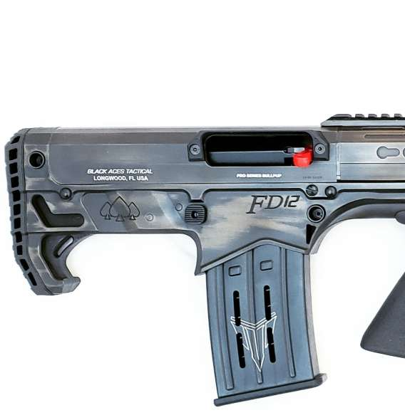Pro Series Bullpup (Pump, Rear) in Distressed Bronze