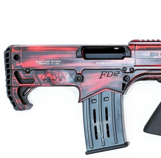 Pro Series Bullpup (Pump, Rear) in Distressed Red