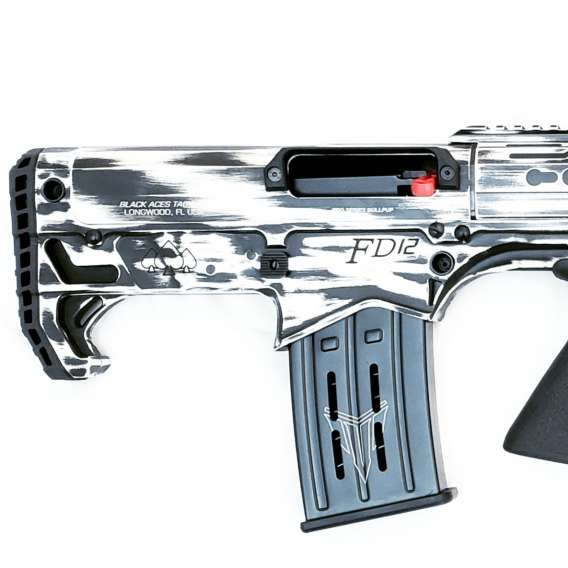 Pro Series Bullpup (Pump, Rear) in Distressed White