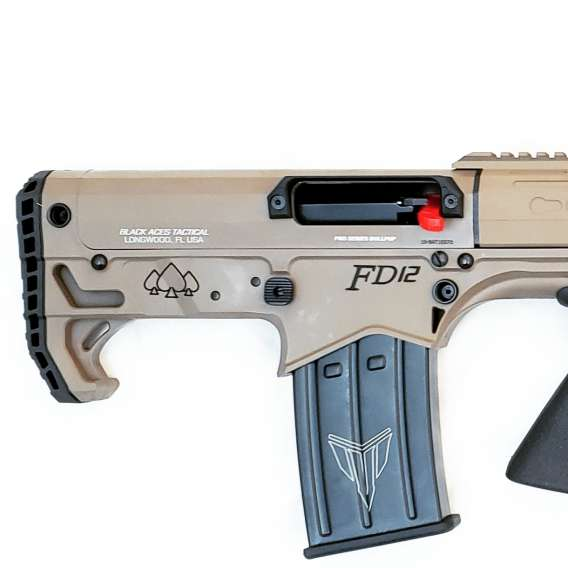 Pro Series Bullpup (Pump, Rear) in FDE