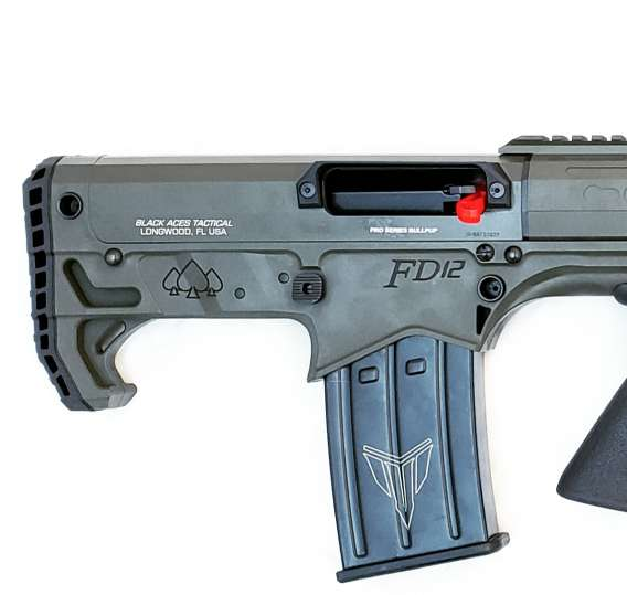 Pro Series Bullpup (Pump, Rear) in Green